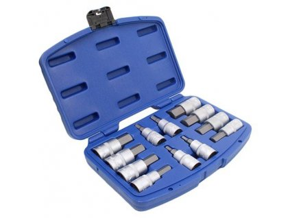 Sada nástrčných klíčů HEX 1/2 12 ks, A-SHEX12