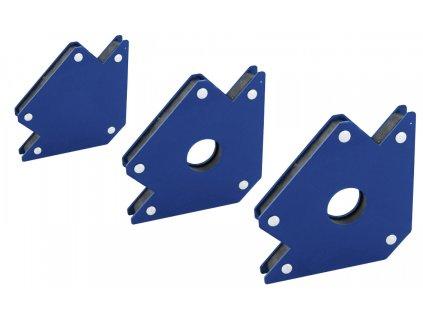 Sada magnetických úhelníků, úchytů na svařování 11,5 kg, 22,5 kg, 34,5 kg F13001+F13002+F13003