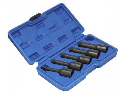 Vytahováky poškozených šroubů 8-16 mm, 5 ks na stržené šrouby, S-1036A