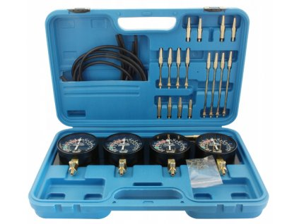 Tester na synchronizaci karburátorů, vakuometry včetně redukce - S-XCS4
