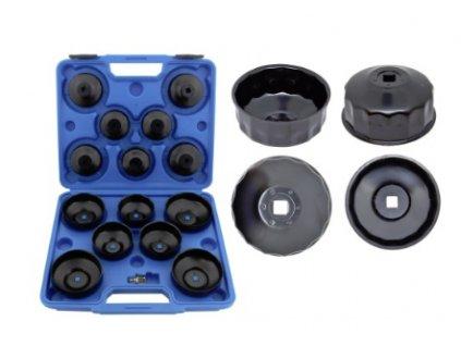 Sada 15 klíčů na olejové filtry 65 - 93 mm F05111