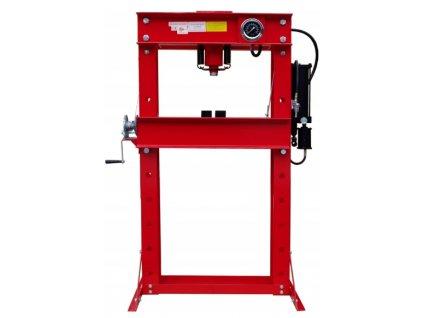 Hydraulický lis 50 t - hydraulicko-pneumatická pumpa