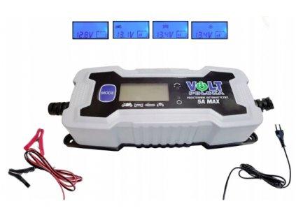 Automatický usměrňovač VOLT 8A 12V / 24V nabíječka VOLT