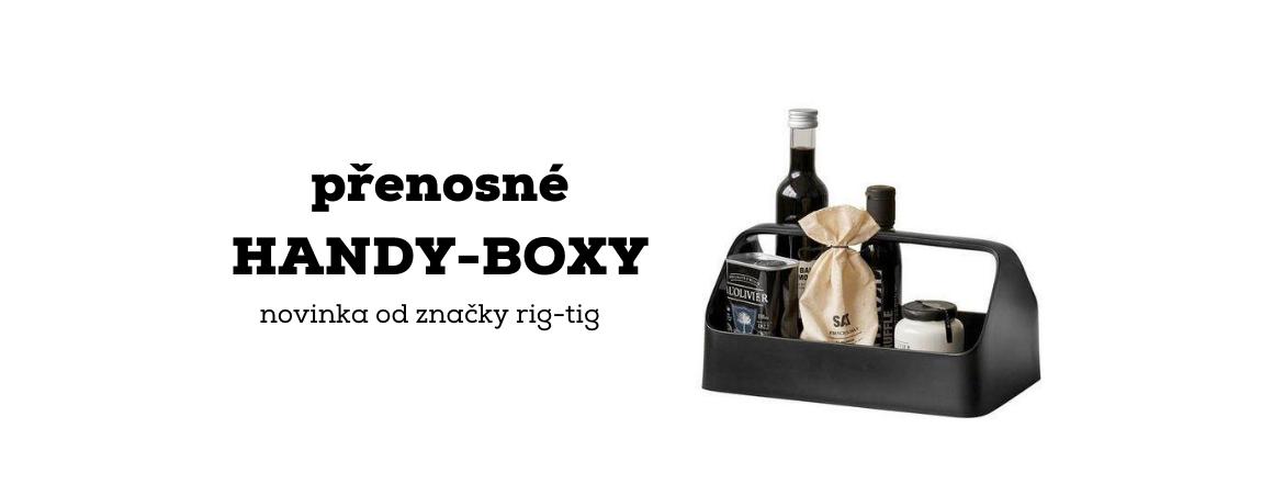 nové přenosné HANDY-BOXY