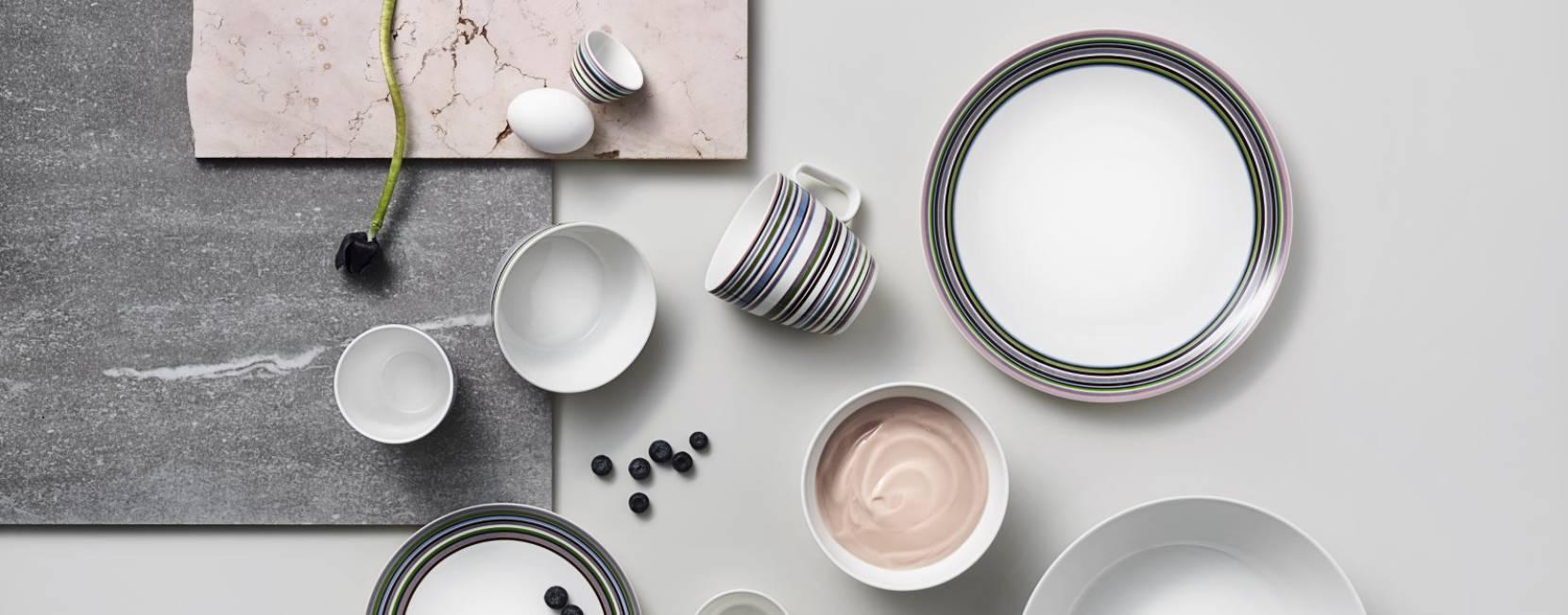 Osobité kombinace z luxusního nádobí iittala Origo.