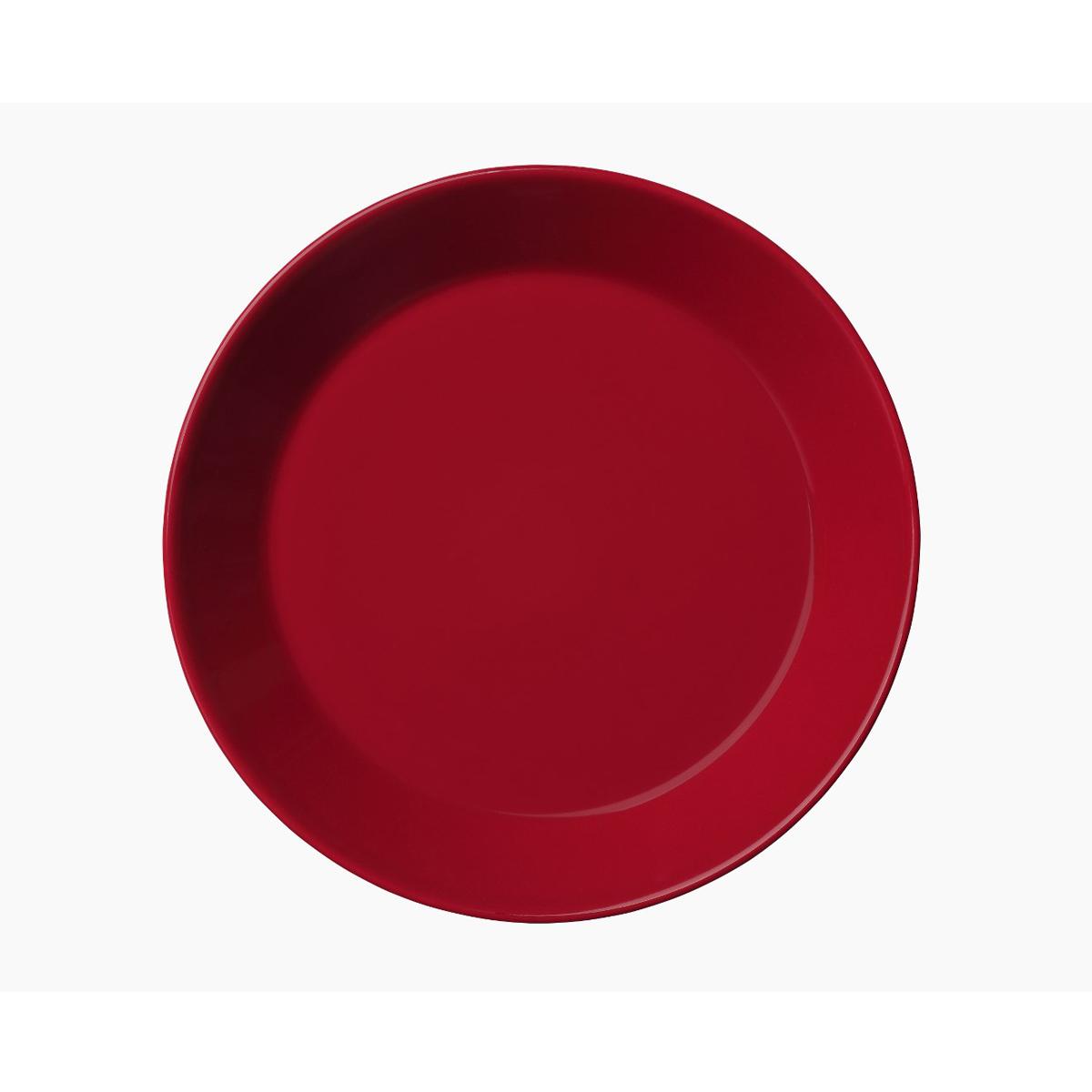Teema_plate_17cm_red