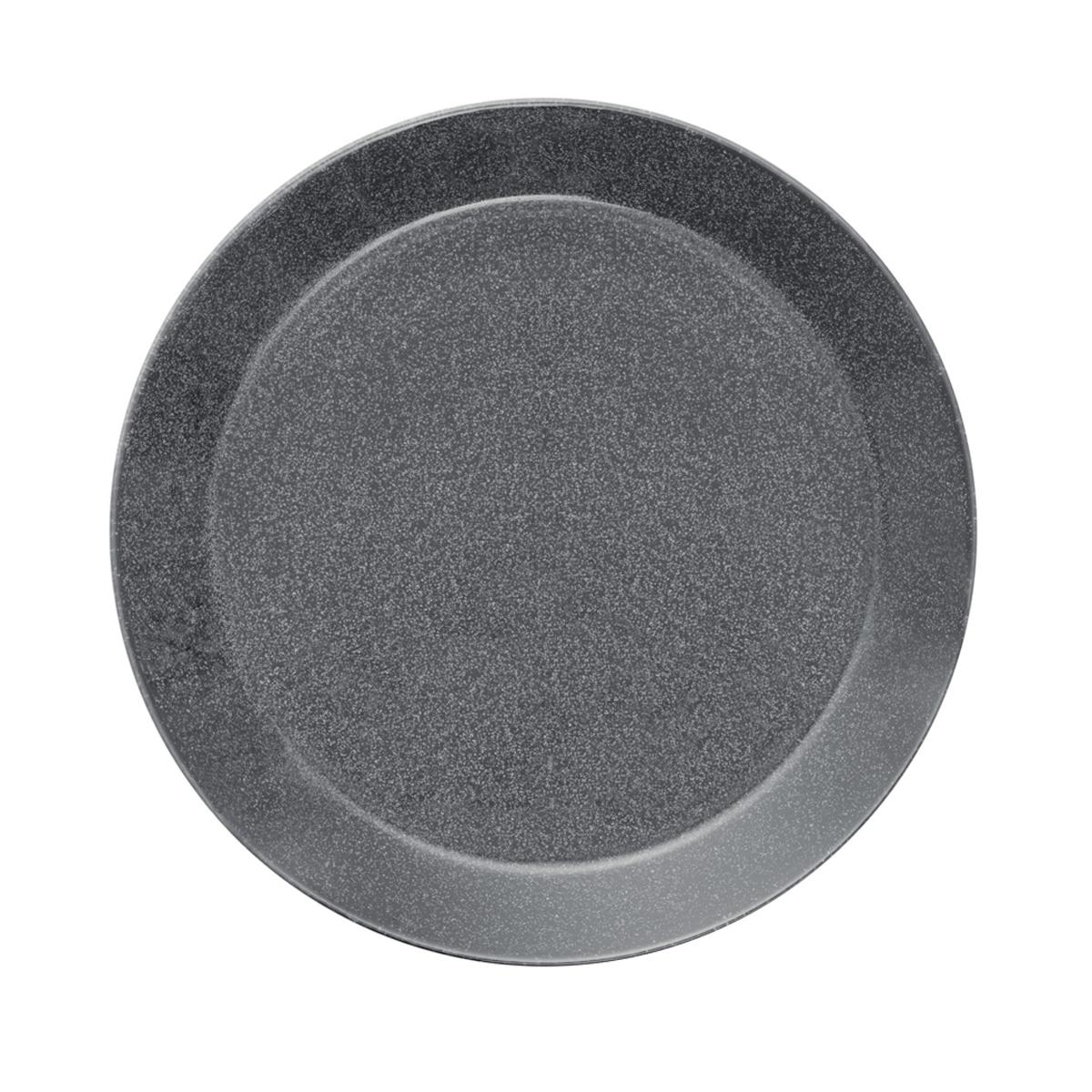 Teema_plate_26cm_dotted_grey