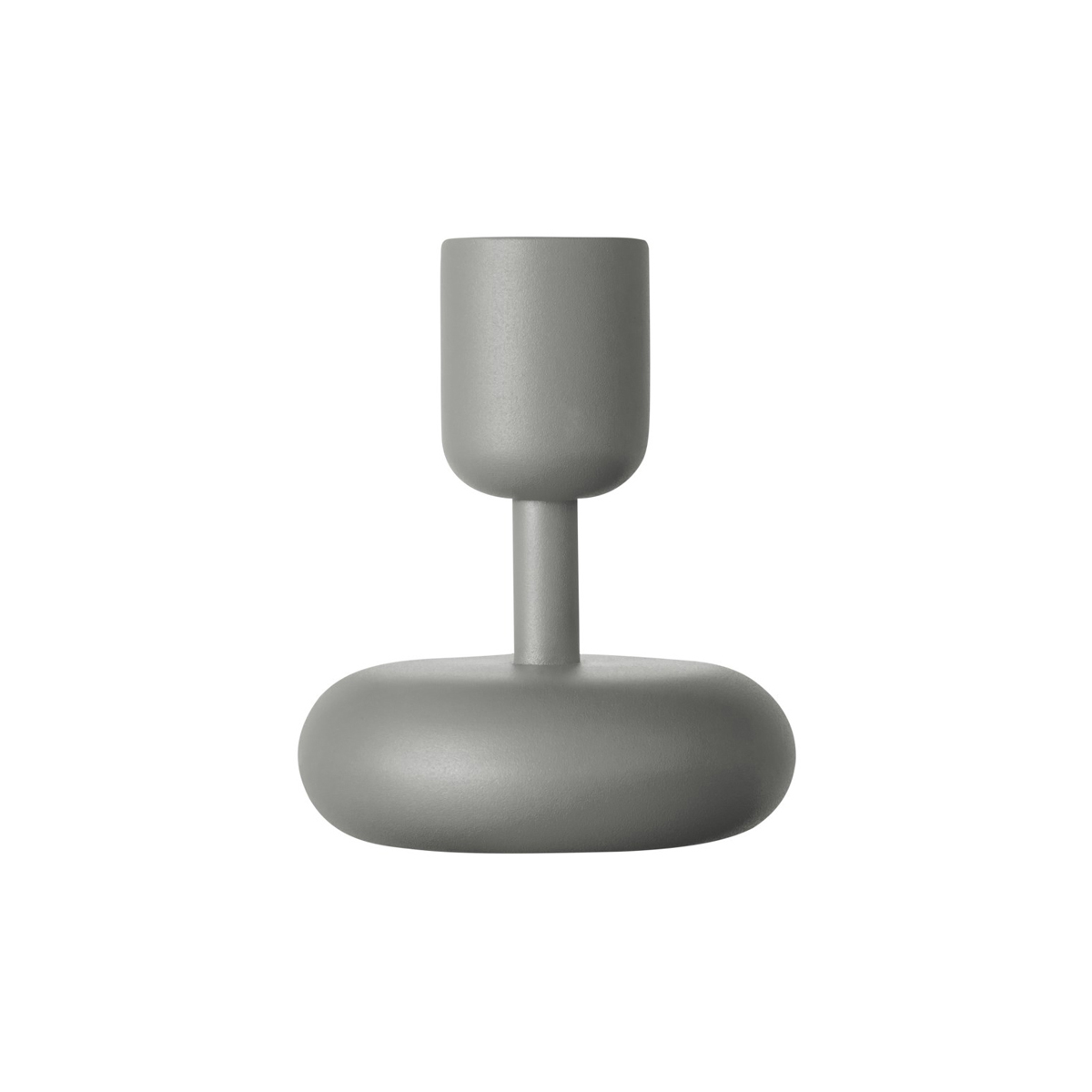 Nappula_candle_holder_107mm_grey