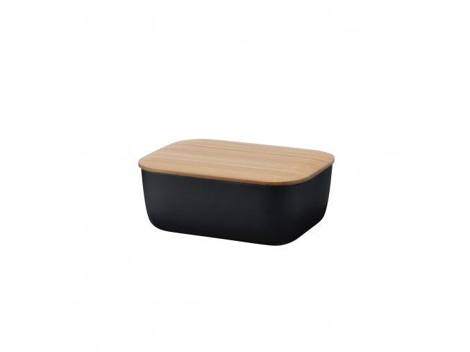 Máslenka BOX-IT Rig-tig černá