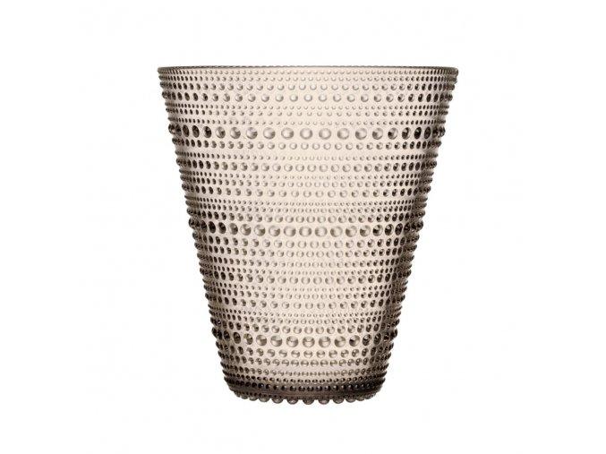 Váza Kastehelmi 15,4 cm světle hnědá linen