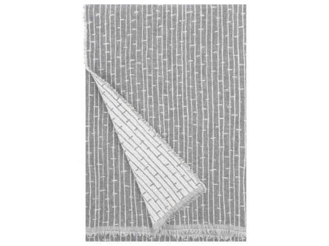 Deka METSÄ Lapuan Kankurit 140x180 cm světle šedá