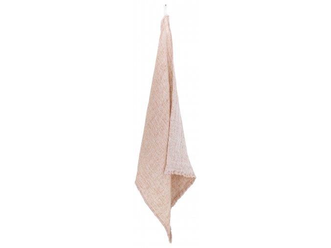 Cestovní ručník NYYTTI Lapuan Kankurit 65x130 cm pudrový