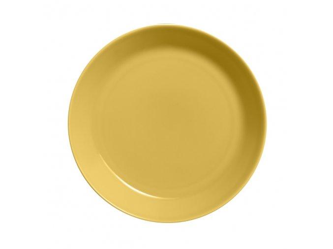 Talíř Teema iittala 26 cm žlutý honey