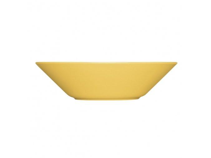 Hluboký talíř Teema iittala 21 cm žlutý honey