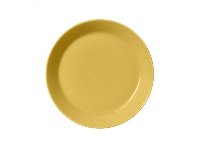 Talíř Teema iittala 21 cm žlutý honey