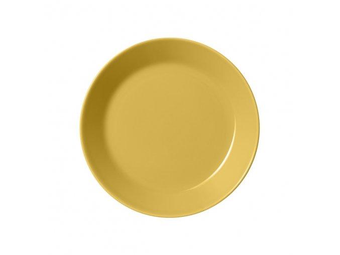 Talíř Teema iittala 17 cm žlutý honey