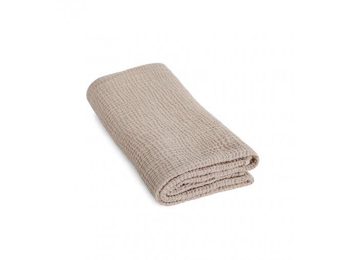 Bavlněná deka pro miminko MUŠELÍN ooh noo písková