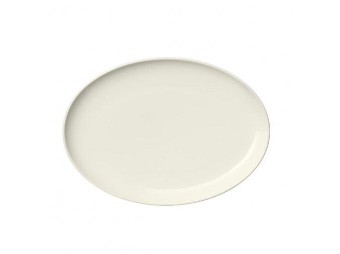 Oválný talíř Essence iittala 25 cm bílý