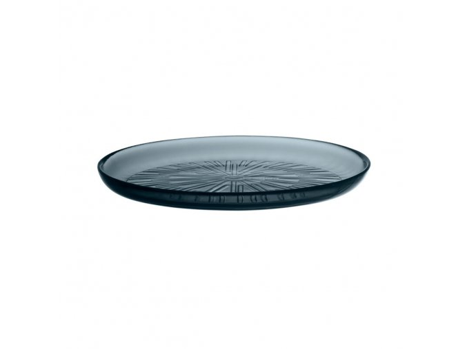 Talíř Essence iittala 21,1 cm tmavě šedý