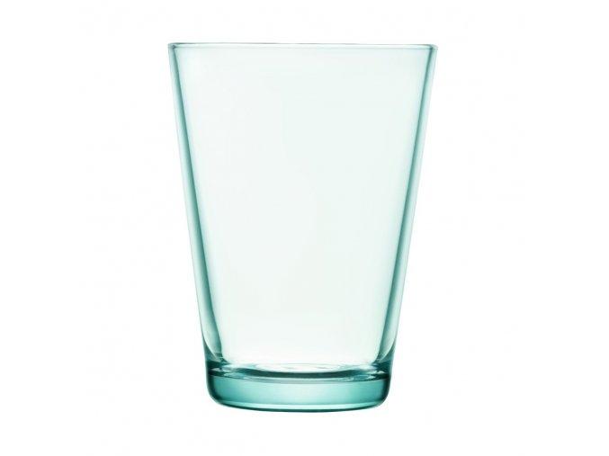 sklenice Kartio Iittala velká vodní zelená 2ks