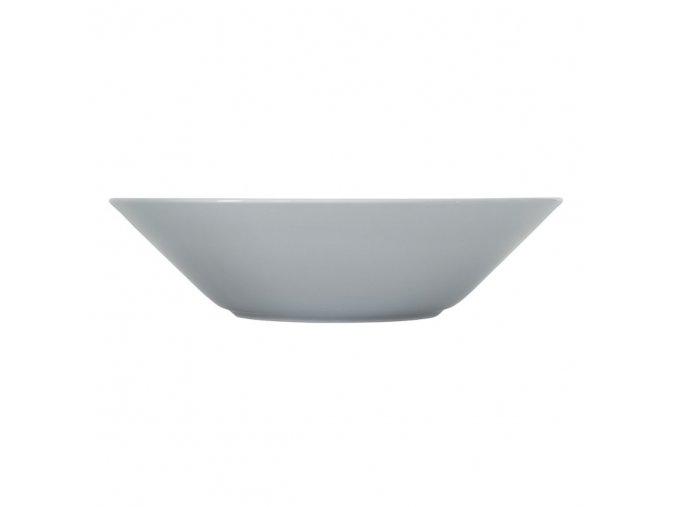 Talíř hluboký Teema iittala 21 cm světle šedý