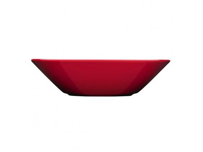 Talíř hluboký Teema iittala 21 cm červený