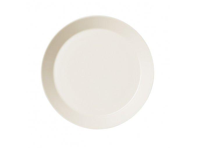 Talíř Teema iittala 23 cm bílý