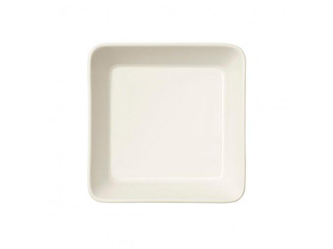 Miska čtvercová Teema iittala 16 cm bílá