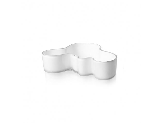 Miska Alvar Aalto iittala 5x19,5 cm bílá střední