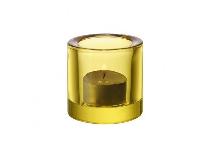 Svícen Kivi iittala žluto–zelený