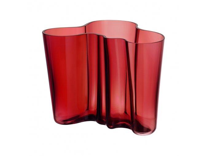 Váza Alvar Aalto iittala 16 cm červená