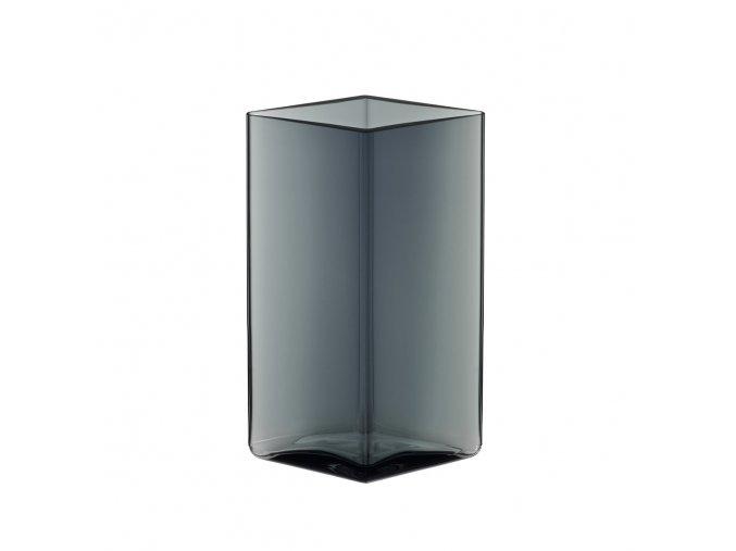 Váza Ruutu iittala 11,5x18 cm šedá