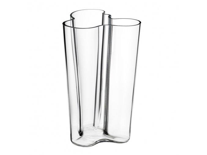 Váza Alvar Aalto iittala 25,1 cm čirá