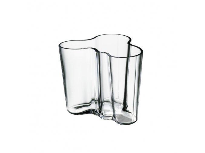 Váza Alvar Aalto iittala 9,5 cm čirá
