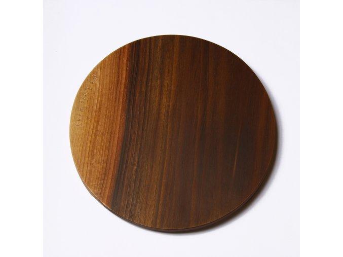 Kuchyňské prkénko We Love Wood ořech kulaté 29cm *