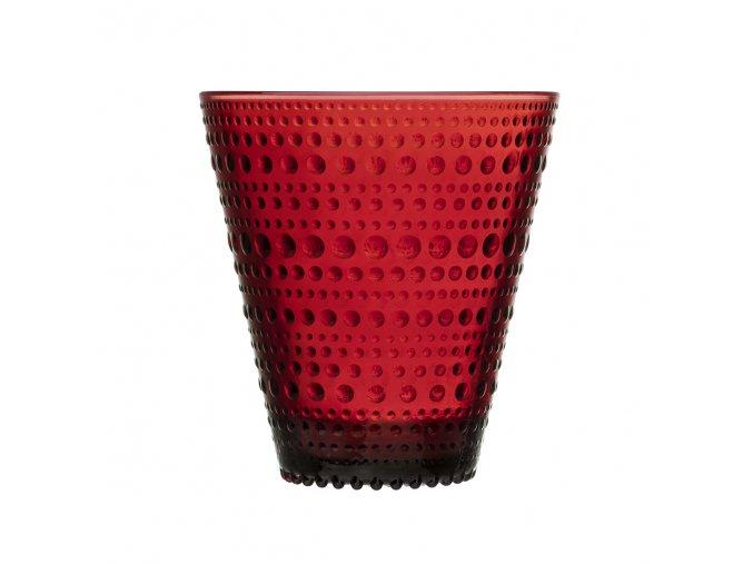 Sklenice Kastehelmi iittala 0,3 l červená 2 ks