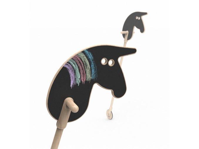 Kovbojský koník na tyči Ooh noo
