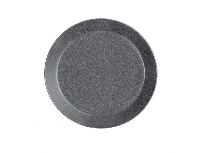 Talíř Teema iittala 21 cm šedý s tečkami