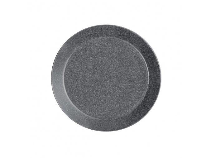 Talíř Teema iittala 17 cm šedý s tečkami