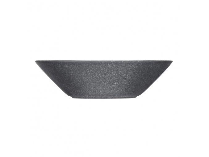 Talíř hluboký Teema iittala 21 cm šedý s tečkami