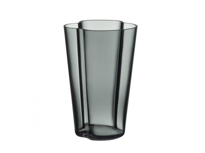 Váza Alvar Aalto 22 cm tmavě šedá