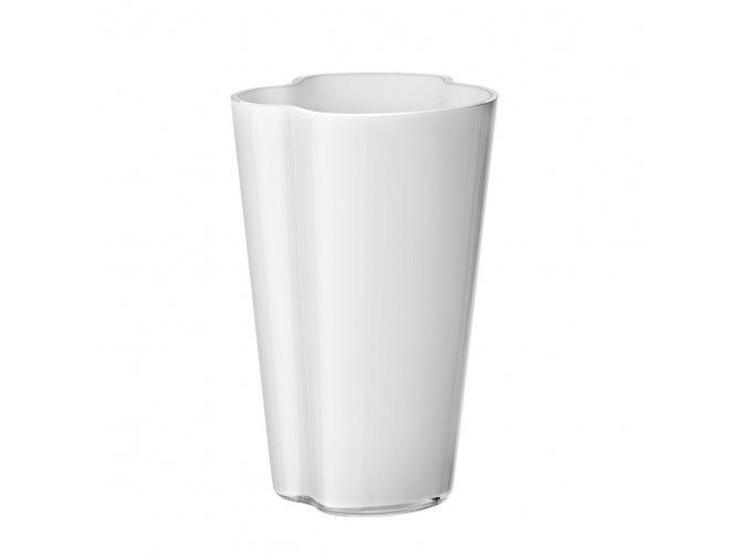 Váza Alvar Aalto 22 cm bílá