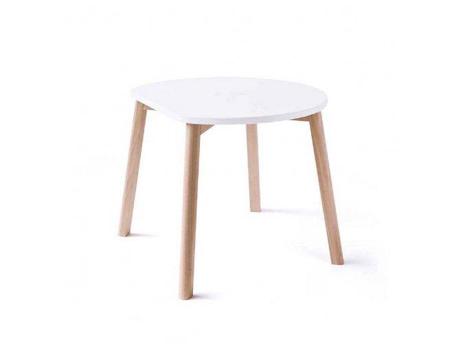 Dětský stůl HALF MOON ooh noo bílý
