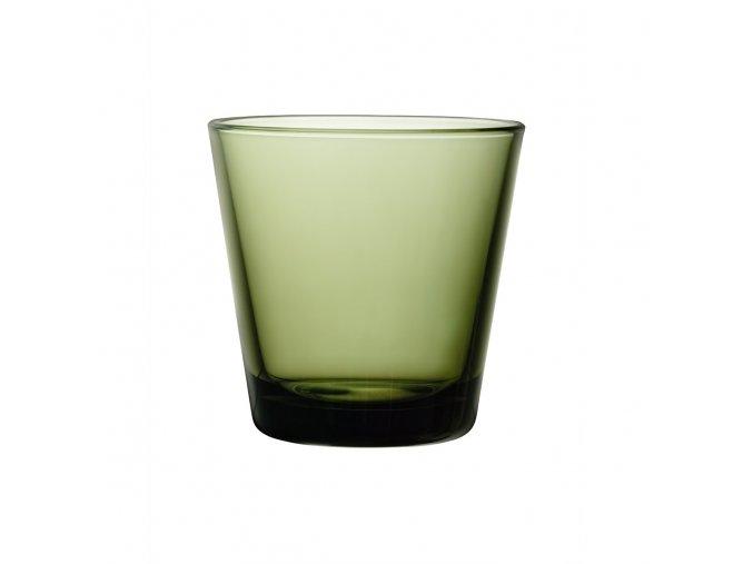 Sklenice Kartio iittala 0,21 l malá mechově zelená 2 ks