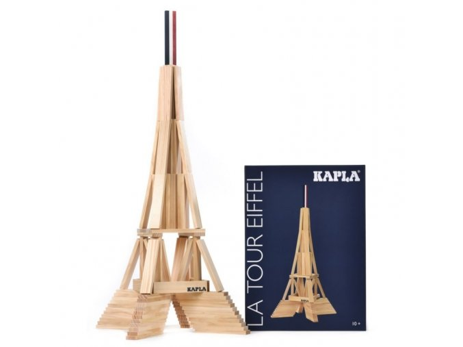 Kapla Eiffelova věž – stavebnice ze dřeva
