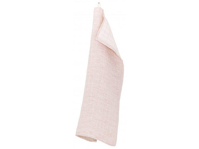 Utěrka /malý ručník LASTU Lapuan Kankurit 48x70 cm růžový