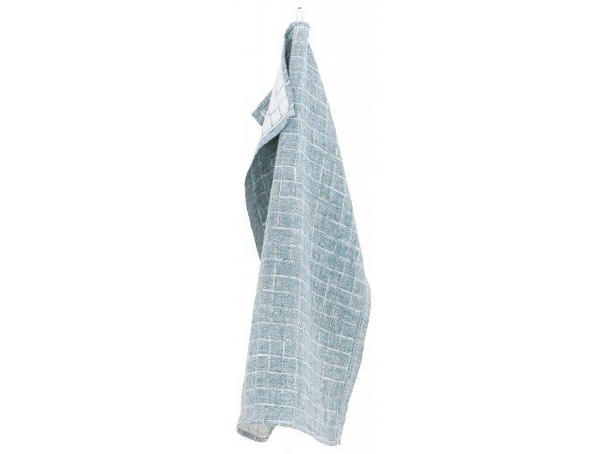 Utěrka / malý ručník LASTU Lapuan Kankurit 48x70 cm petrolejový *