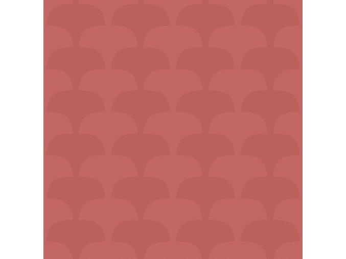 Tapeta Bloom Eco Tapeter světle červená / červená