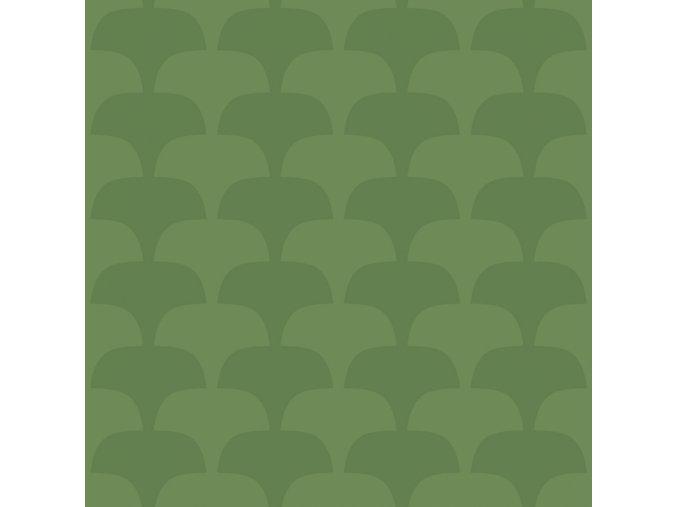 Tapeta Bloom Eco Tapeter světle zelená / zelená