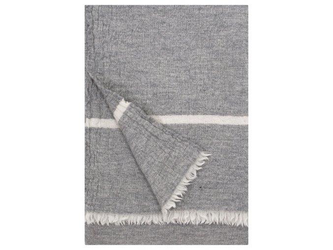 Deka TANHU Lapuan Kankurit 130x170 cm světle šedá
